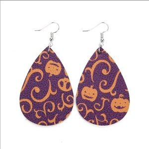 Halloween Pumpkin 🎃 teardrop earrings